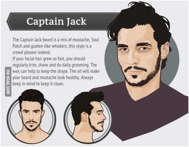 Captain Jack - Trend Model Rambut Wajah Pria 2015