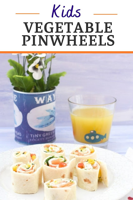 Colourful pinwheel sandwiches filled with kid-friendly vegetables for lunch boxes, along with alternative filling ideas.