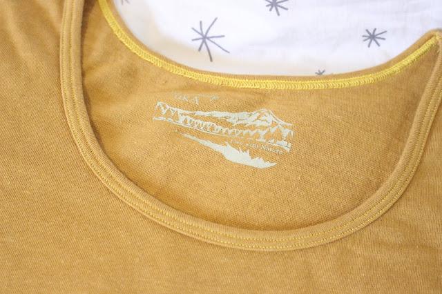 UkAJapan Review, UkAJapan brand, UkAJapan hemp t-shirt, UkAJapan etsy, UkAJapan etsy review, UkAJapan blog review, hemp t-shirt Japan, organic cotton t-shirts Japan, Hemp Botanical Dyed A-Line T-shirt