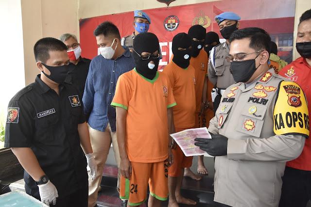 7 Pelaku Pembuat Upal Dibekuk Polisi, TKP Pembuatan Di Tanggerang