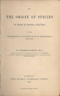 Libro de Charles Darwin - El origen de las especies