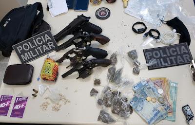 Quinteto criminoso é desarticulado na cidade de Jaguaripe