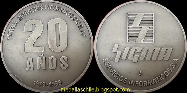 Medalla Sigma Servicios Informaticos