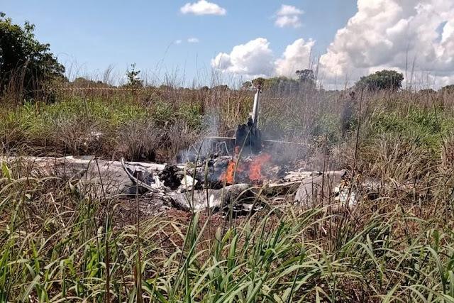 Avião com presidente e jogadores do Palmas Futebol e Regatas cai logo após decolar e deixa seis pessoas mortas