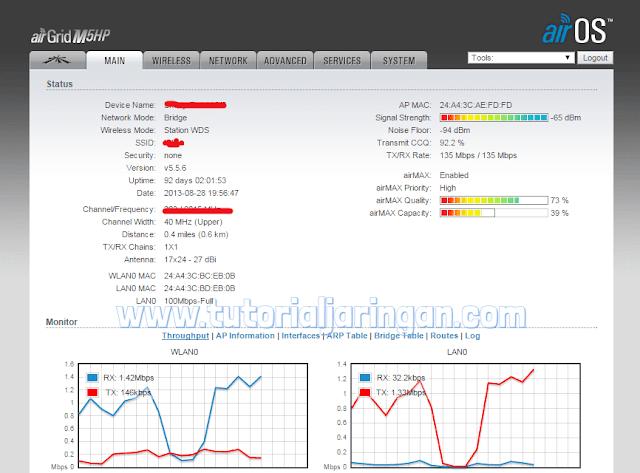 Tutorial Cara Setting Radio Wireless Ubiquiti AirGrid M5HP Sebagai Station