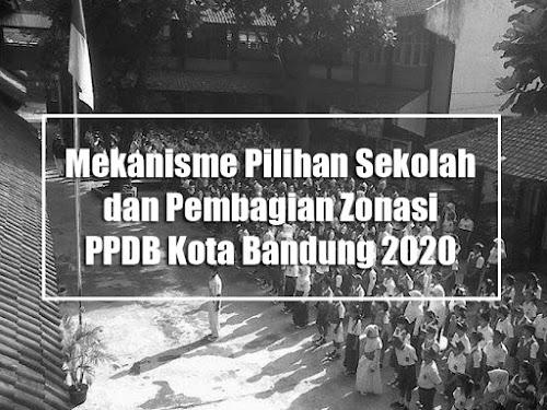 cara pilih sekolah ppdb bandung 2020
