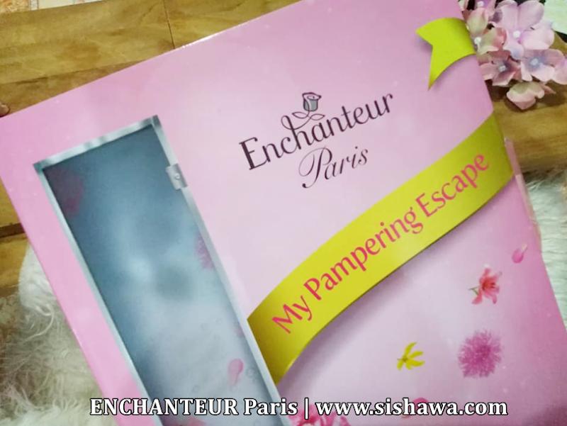 ENCHANTEUR Paris Parfum Shower Gel - Masa Mandian Terasa Mewah Dengan Belaian Penuh Romantis