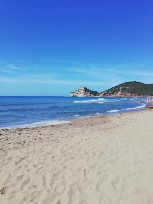 la spiaggia Le Rocchette