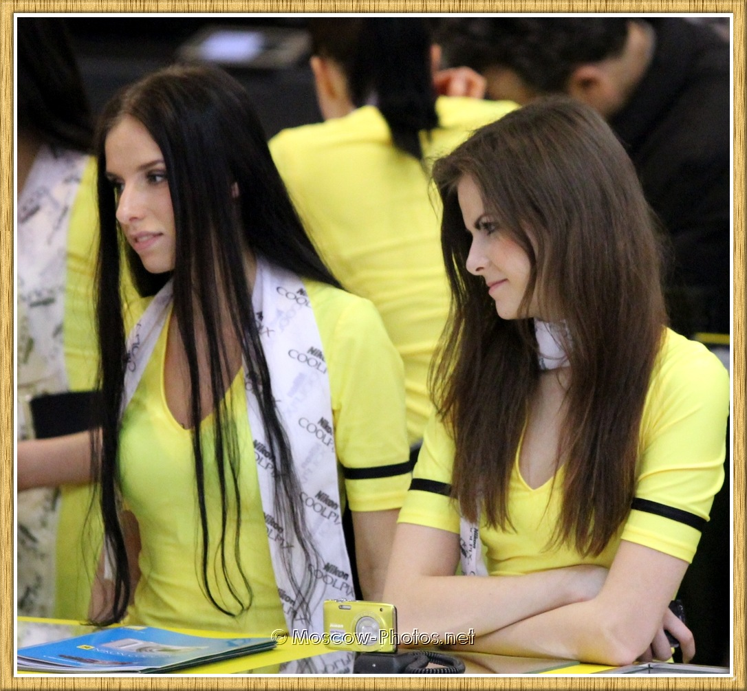 Long Haired Moscow Promotional Girls