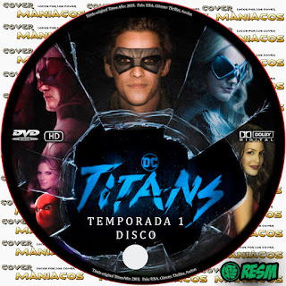 GALLETA 2 TITANS - TITANES - TEMPORADA 1 - 2018 [COVER DVD]