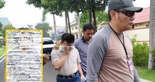 pendeta (HL) ditangkap polisi
