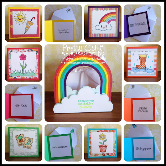 Rainbow Gift Bag and Mini Notes Set!