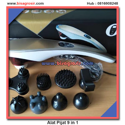 Alat pijat infrared 9 in 1 HANDLE MASSAGER