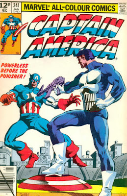 Captain America #241, the Punisher