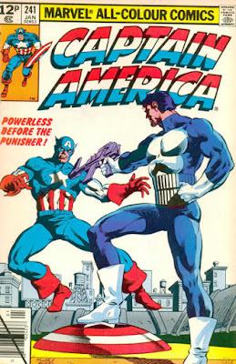 Captain America #241, the Punisher