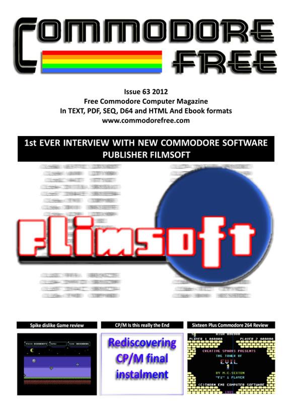 Commodore Free Magazine   Retroinvaders