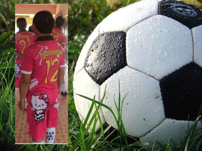 Un peculiar y valiente equipo de futbol tomó como base de su uniforme la  gatita más famosa del mundo 98b1367f17a0b