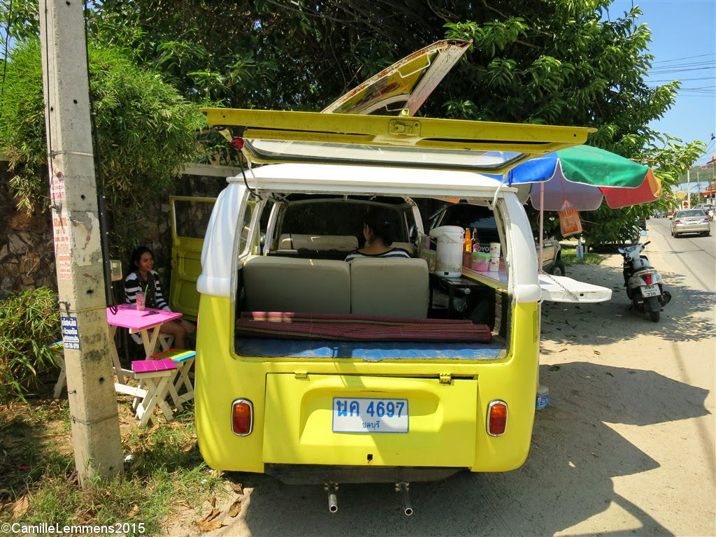 Food on Wheels; Coffee and tea in a VW