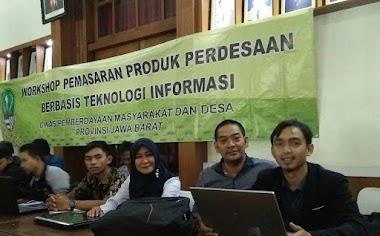Kegiatan Workshop Pemasaran Produk Perdesaan Berbasis Teknologi Informasi di Gedung BKPP Wil. I Bogor