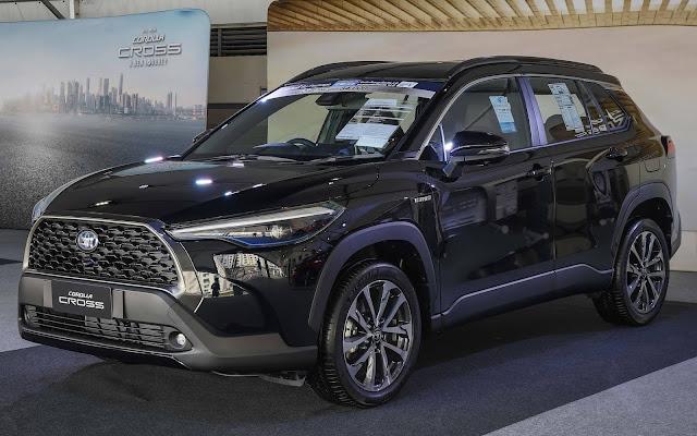 Toyota Corolla Cross 2021 preços estimados para o Brasil