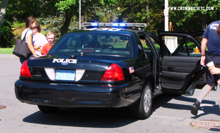 The Crown Vics ETC Blog: Lexington MA Police Vic at Touch a