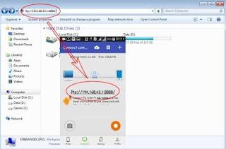 Cara Mengirim Data Dari Android ke PC Tanpa Kabel Data
