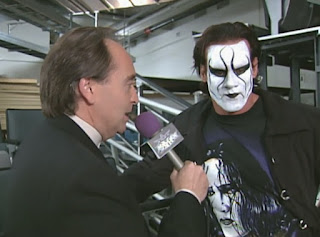 WCW Mayhem 1999 - Mike Tenay interviews Sting
