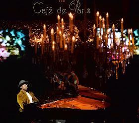 Alexis Ffrench at the Cafe de Paris (photo David Nelson)