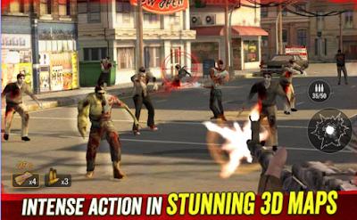 mod Zombie Hunter Apocalypse Apk versi terbaru