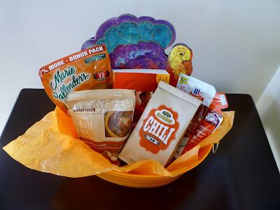gift basket, Thanksgiving, chili, turkey