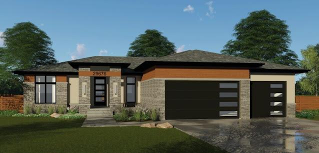 Modern One Story House Floor Plans