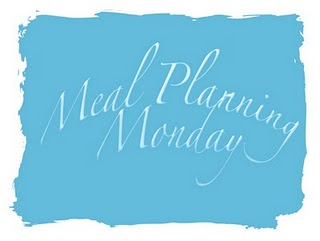 Meal Planning Monday with Mrs M