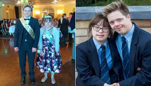 ευγάρι 16χρονων με σύνδρομο Down χρίστηκαν βασιλιάδες στον χορό αποφοίτησης