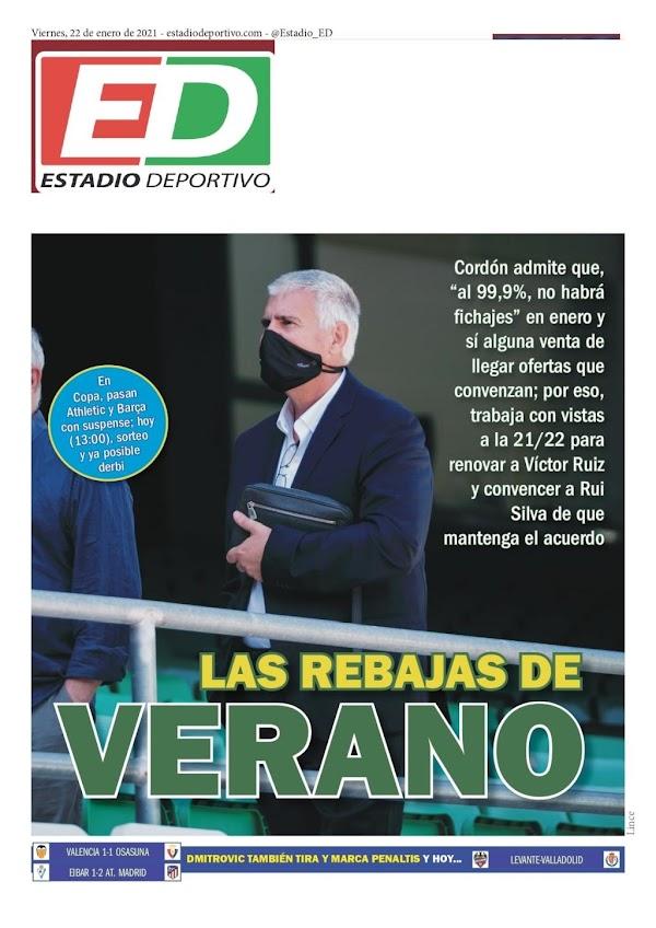 """Betis, Estadio Deportivo: """"Las rebajas de verano"""""""