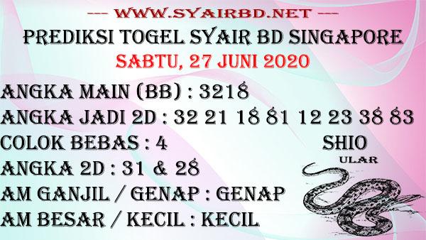 Syair BD SGP