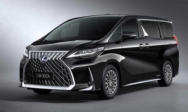 Lexus LM minivan hạng sang giá 215.000 USD