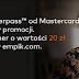 Łatwe 20 zł do empik.com za dwie płatności Masterpass