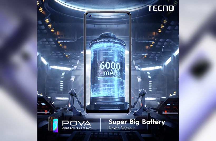 Tecno Pova Giant Battery