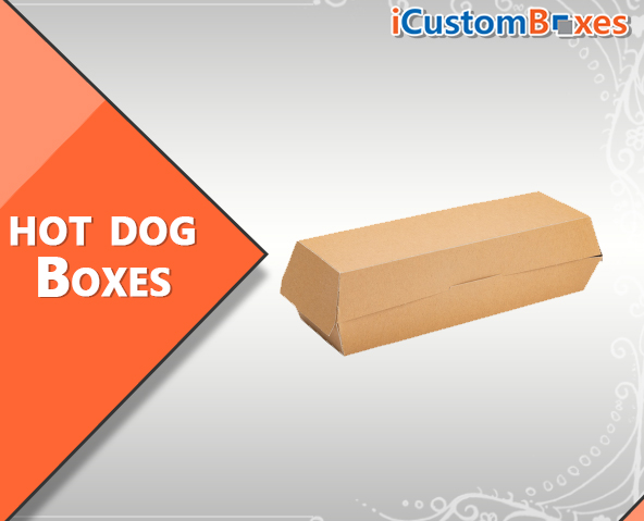 Custom Printed Hot Dog Boxes Wholesale with Free Shipping
