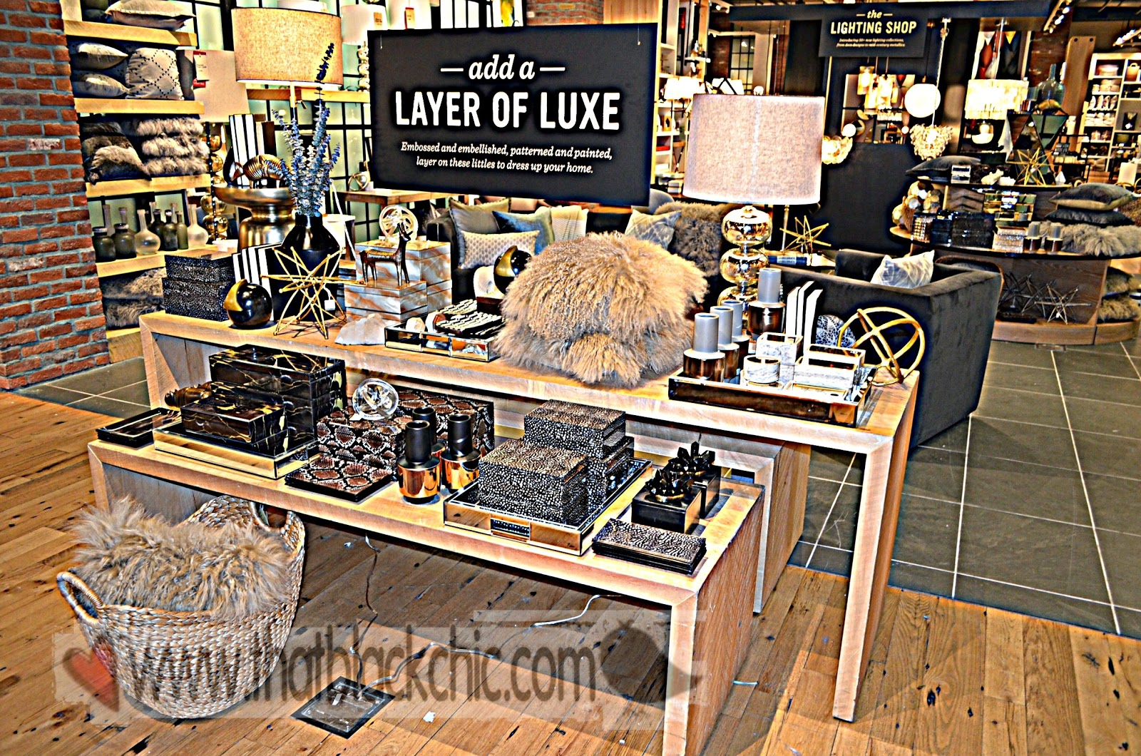 West Elm Christmas Display.Do You Know Know The Way To West Elm That Black Chic