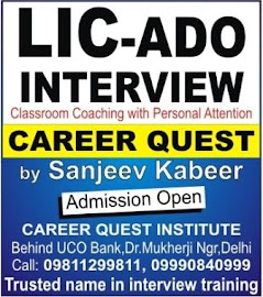LIC ADO Interview 2019