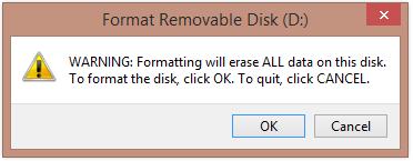 cara format flashdisk baru di komputer