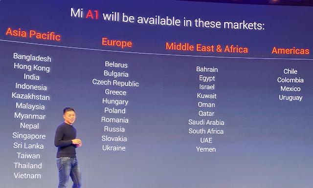 Xiaomi A1, Flagship Dual Camera dengan Sistem Android One