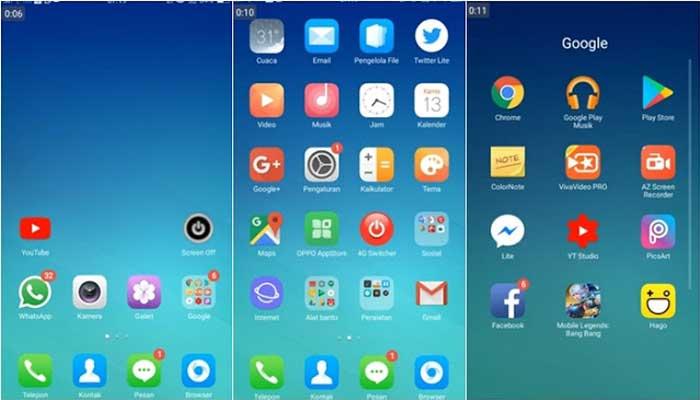 Kumpulan Tema Iphone Untuk Oppo Tembus Akar Coloros Dan Ios Gratis Denpono Blog