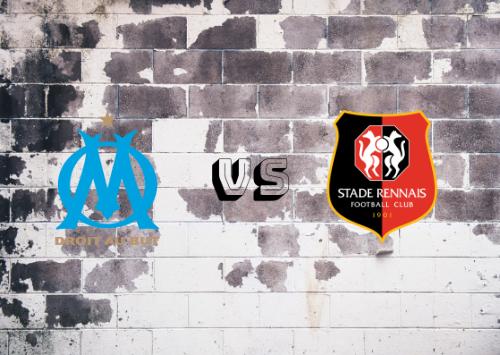 Olympique de Marsella vs Rennes  Resumen