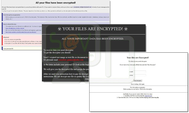 ponce.lorena@aol.com (Ransomware GlobeImposter)