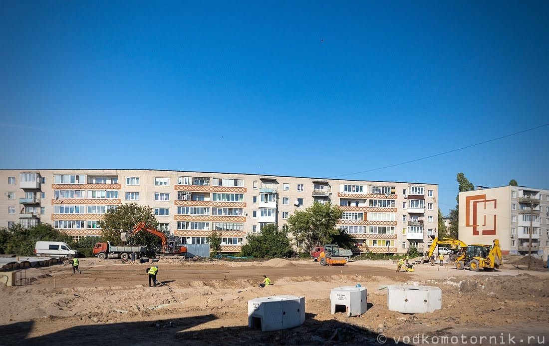 Привокзальная площадь Гусев