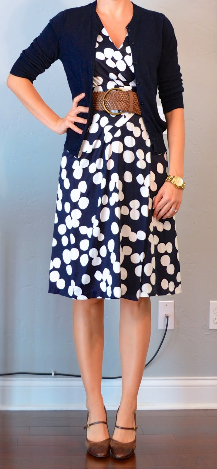 Traditional color combinations for cheap polka dot dresses were black dots on a white background, white dots on a black background, white on navy blue, navy blue on white, white on red, and red on white.
