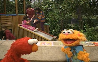 Zoe realizes two more pictures and look them. Elmo feels bummed, when the number of pictures decrease. Sesame Street The Best of Elmo