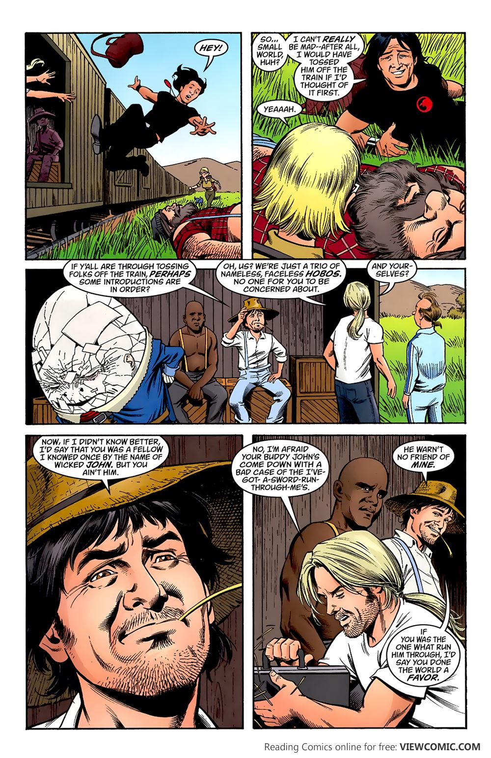 Jack of Fables 18 …………………………………… | Viewcomic reading comics